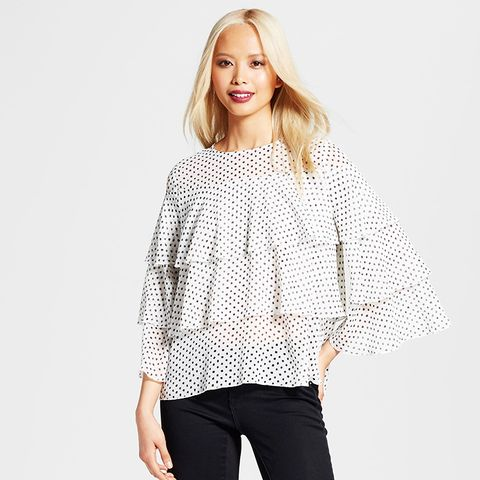 Layered Ruffle Blouse