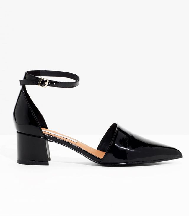& Other Stories Patent-Leather Pumps