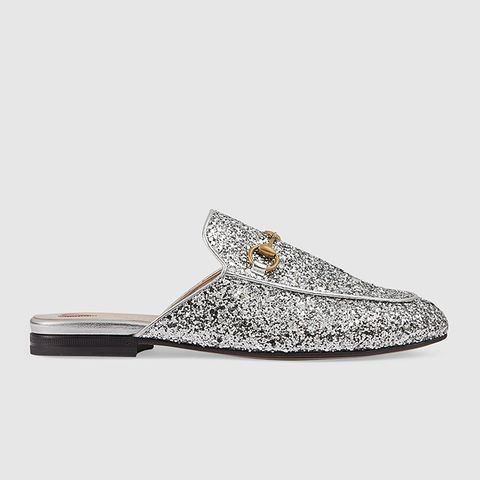 Princetown Glitter Slippers