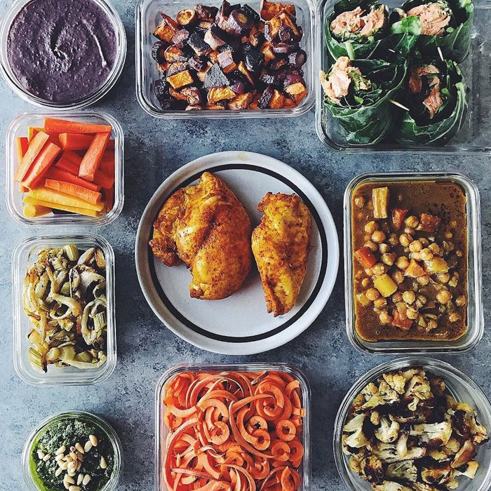 How to Meal Prep—Healthy Meal Prep Grocery List