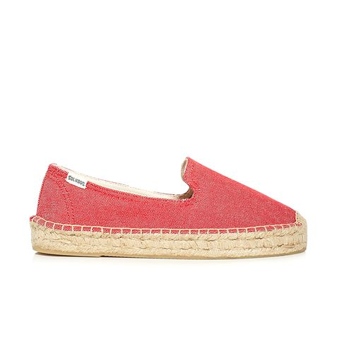 Smoking Slipper Platform Espadrille Flats