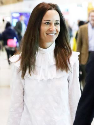 Pippa Middleton Just Made Skinny Jeans Look Chic at the Airport