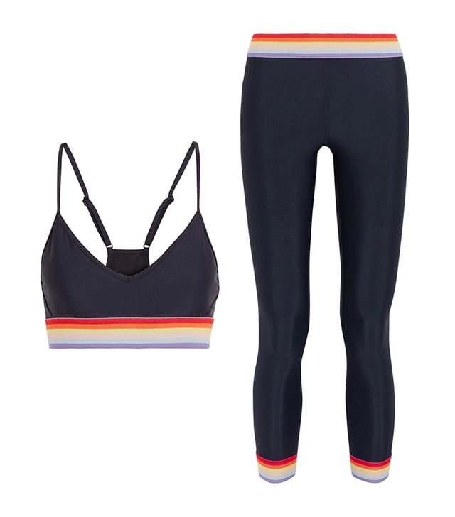 The Upside Andie Stretch-Jersey Sports Bra