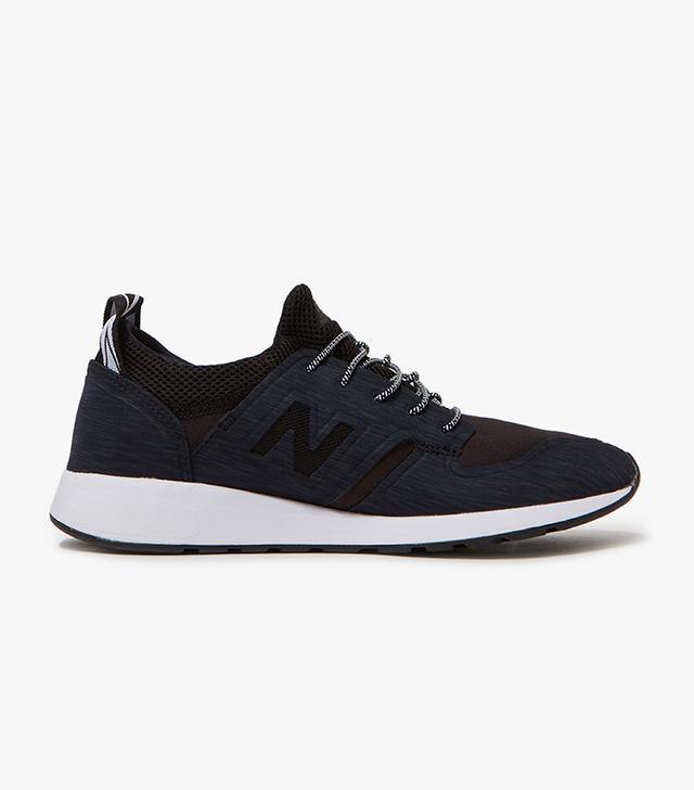 New Balance 420 Slip-On Sneakers in Black/White
