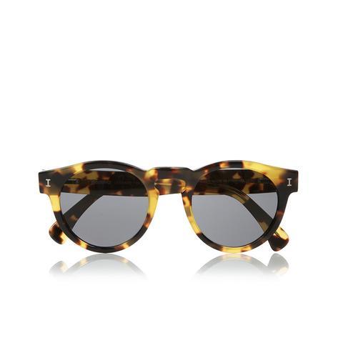 Leonard Round Frame Acetate Sunglasses