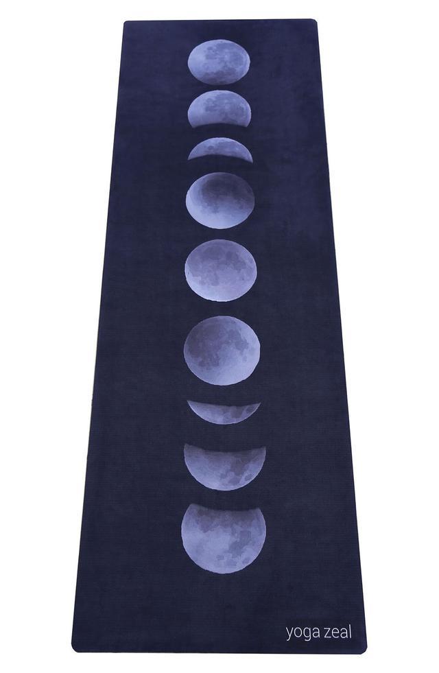 Yoga Zeal Moon Phases Yoga Mat Towel