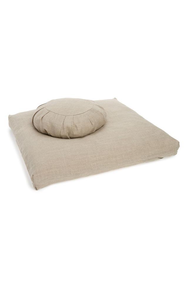Ever Veritas 2-Piece Zafu & Zabuton Meditation Cushion Set