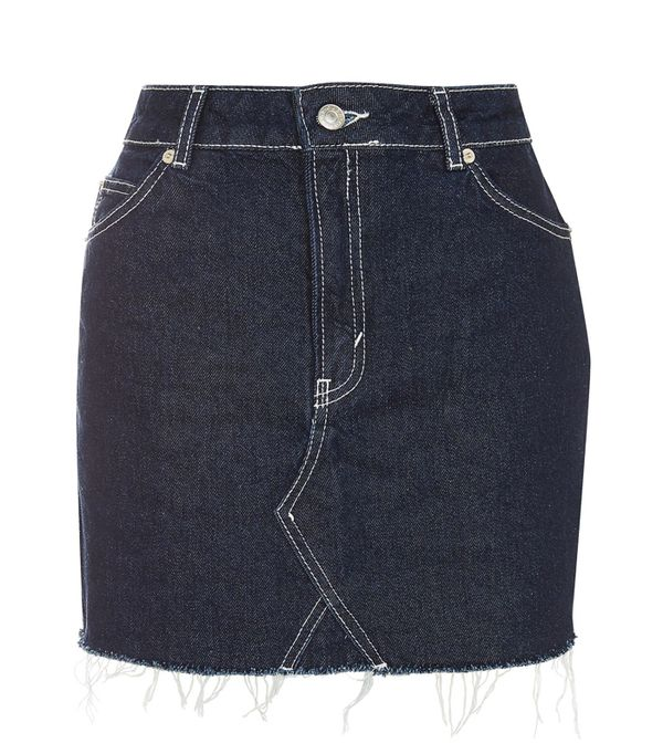 the best denim skirts to buy now whowhatwear