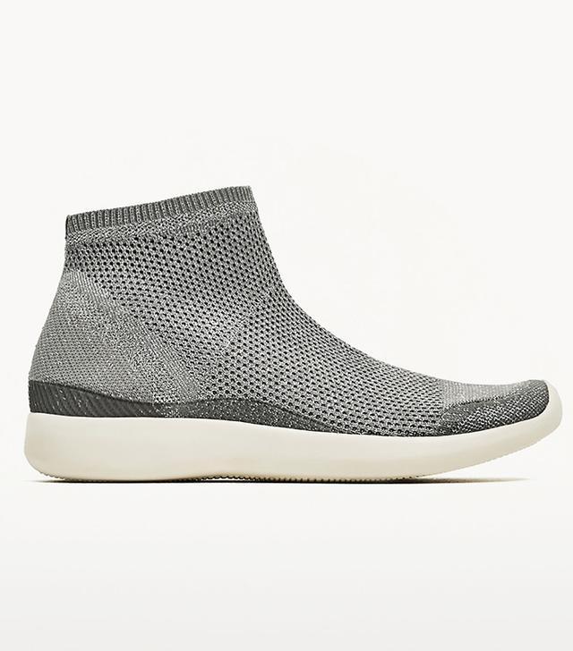 Zara Shiny Sock Sneakers