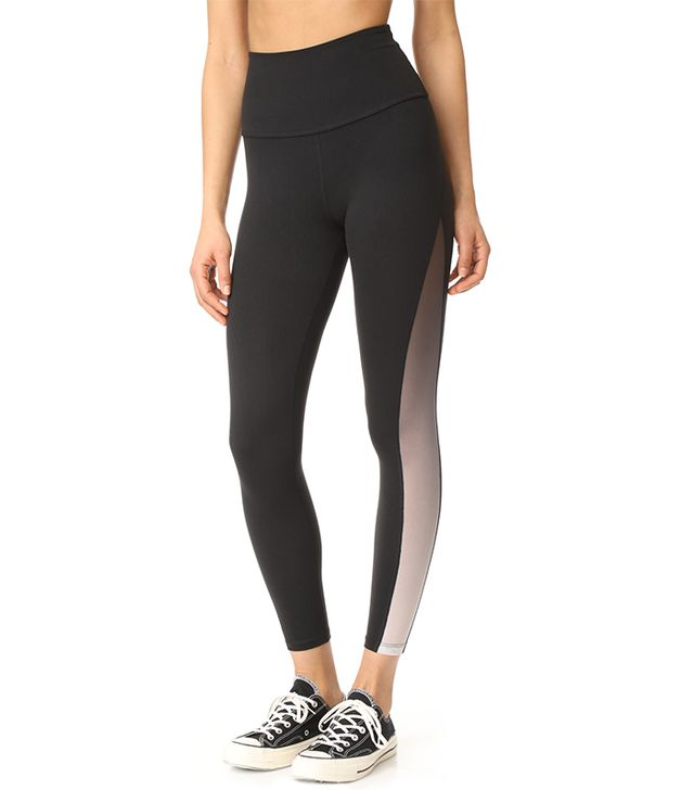 High Waisted Midi Leggings