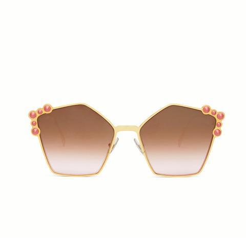 Rose-Gold Sunglasses