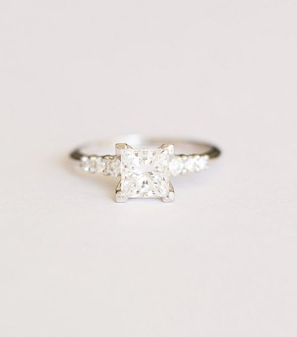 Pictured: Octavia Elizabeth custom engagement ring