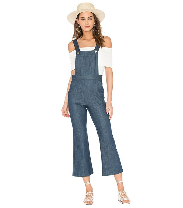 Lina Cropped Overall