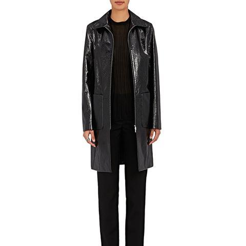 Mendoa Patent Leather Coat