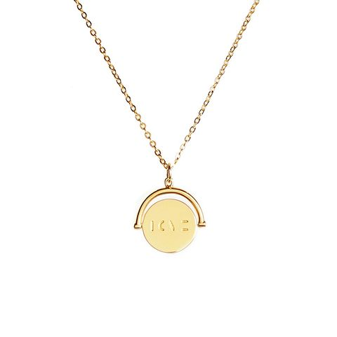 Love Love Code Charm Necklace