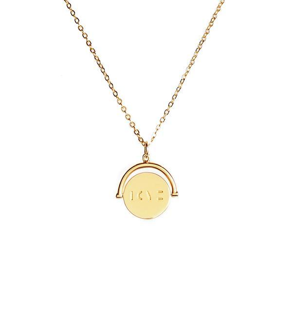 Women's Lulu Dk Love Love Code Charm Necklace
