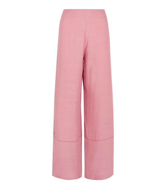 Monte Crepe Wide-leg Pants