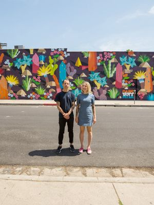 This Melbourne Duo Painted a Mural in L.A. and It's Gaining a Lot of Attention