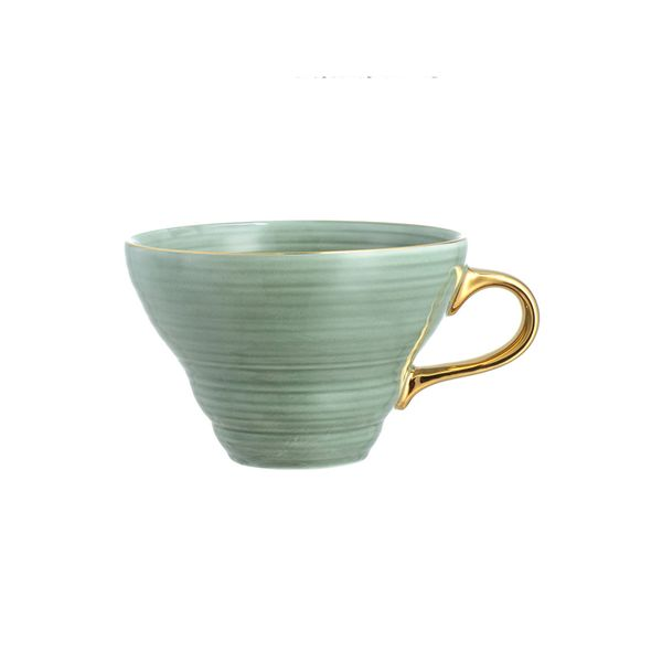 Textured Porcelain Cup