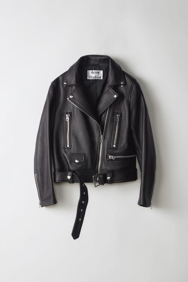 Acne Studios Motorcycle Jacket in Black