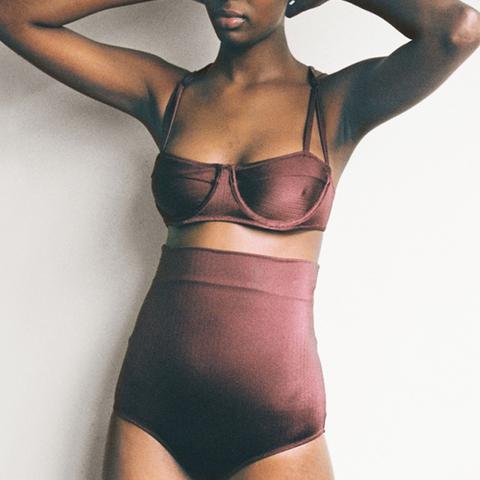 Daphne Bikini Oxblood