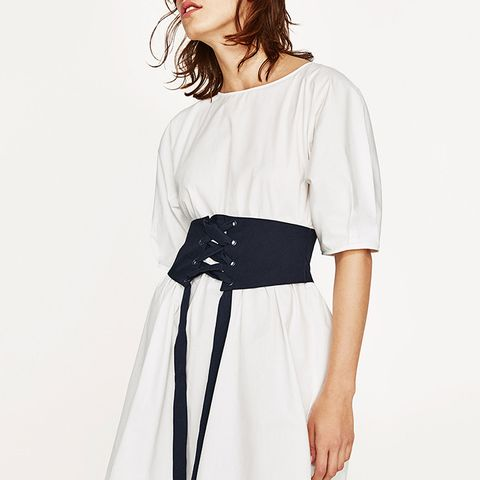 Corset-Like Dress