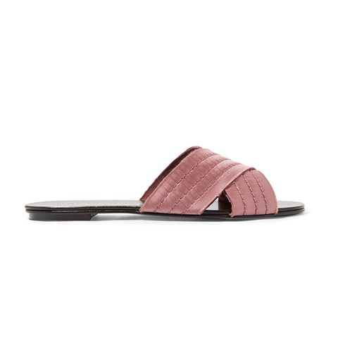 Elisa Satin Sandals