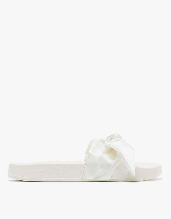 Bow Slide in Marshmallow