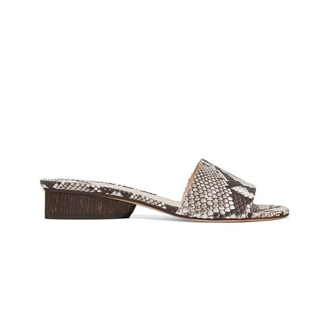 Lina Python Sandals