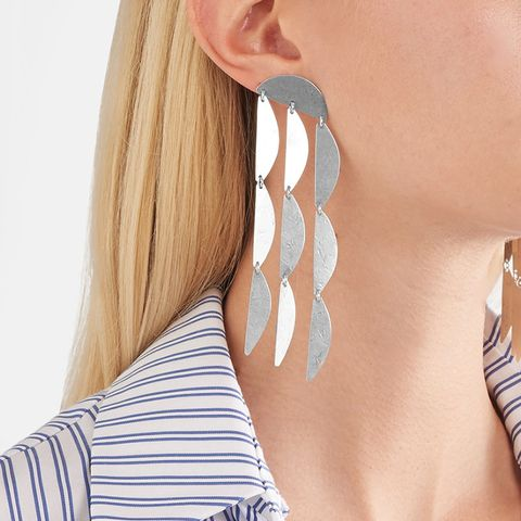 Mini Rain Sterling Silver Earrings
