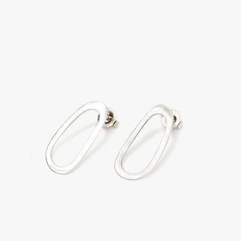 Oblong Oval Studs