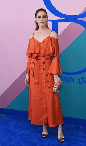 Olivia Palermo Just Wore a $148 Banana Republic Dress on the Red Carpet