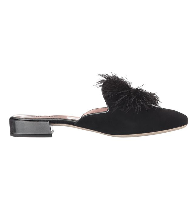 Kate Spade New York Gala Mules in Black