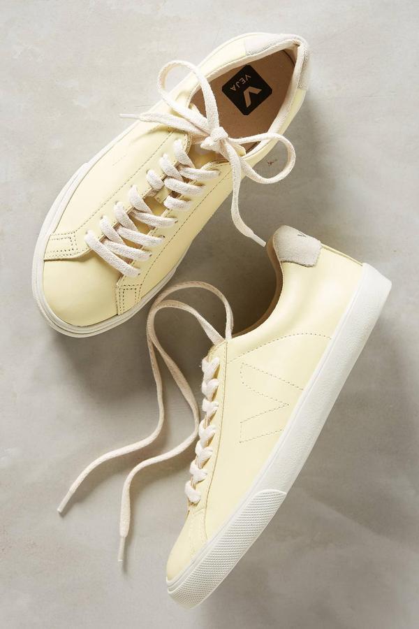 Lemon Yellow Sneakers