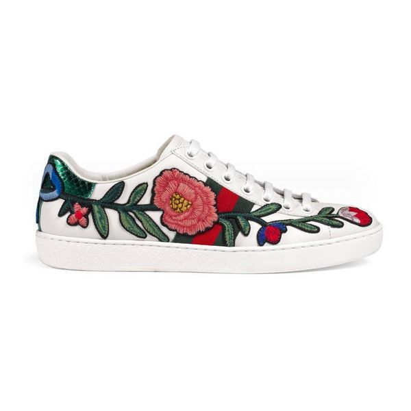 Ace embroidered low-top sneaker