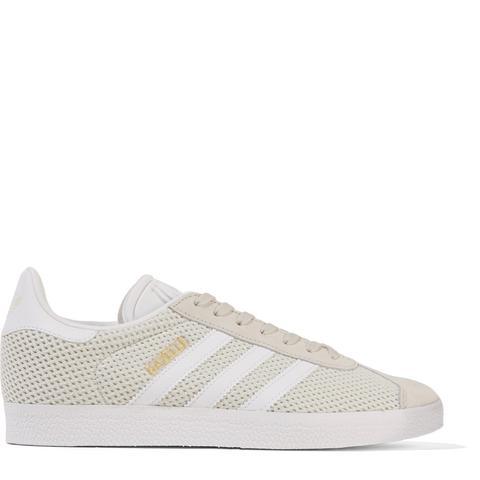 Gazelle Suede-Trimmed Primeknit Sneakers
