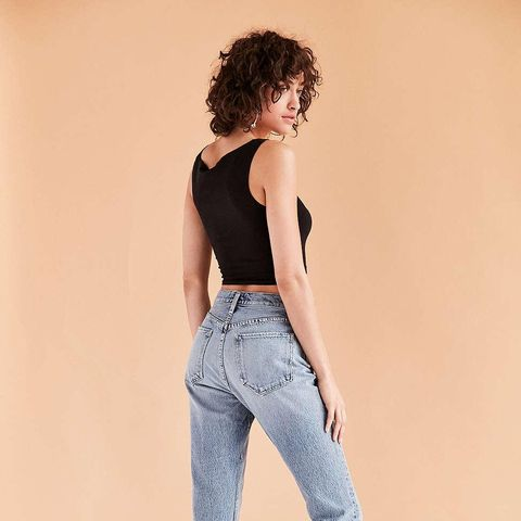 Riley High-Rise Cropped Jeans