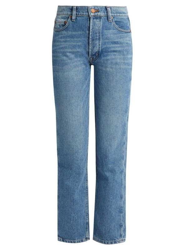 Collector-fit high-rise jeans