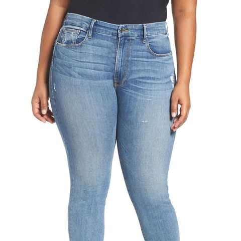 Plus Size Good Cuts High Rise Boyfriend Jeans