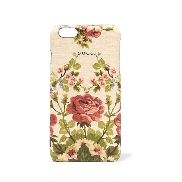 Adonis Floral-print Textured Iphone 6 Plus Case