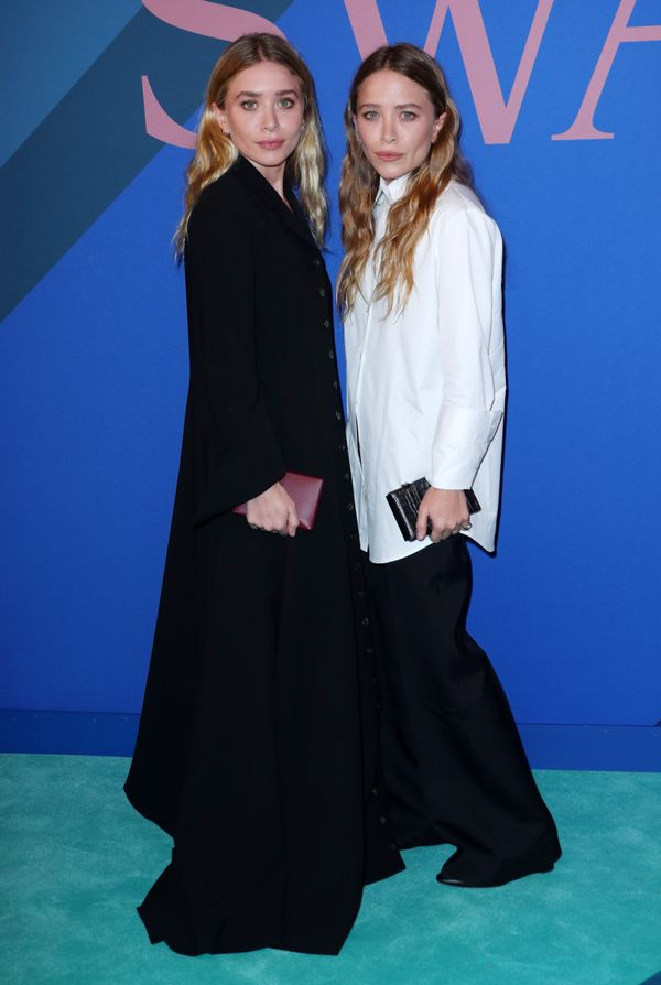 WHO: Ashley and Mary-Kate Olsen WEAR: The Row.