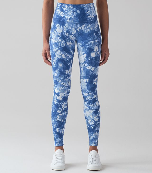 Lululemon Blue and White Leggings