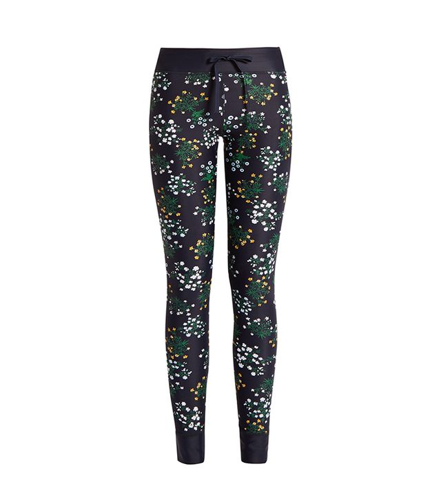 Ditsy Floral-print performance leggings