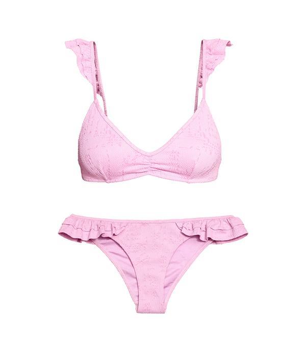 Jacquard-patterned Bikini