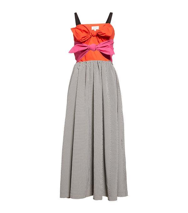 Double Knot Midi Dress