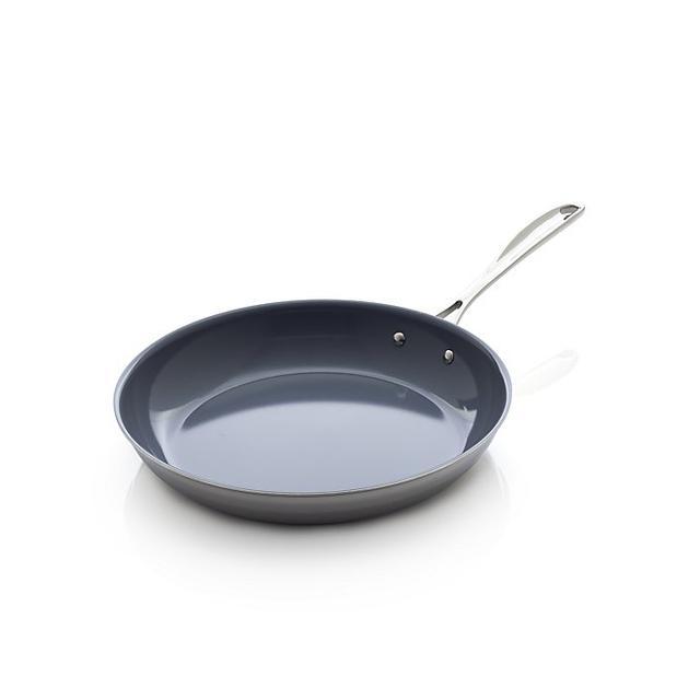 """ZWILLING ® J.A. Henckels VistaClad Ceramic Nonstick 12"""" Frypan - Crate and Barrel"""