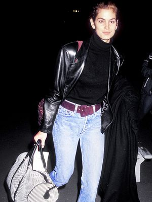 Hold On: Did '90s Cindy Crawford Invent Airport Style?