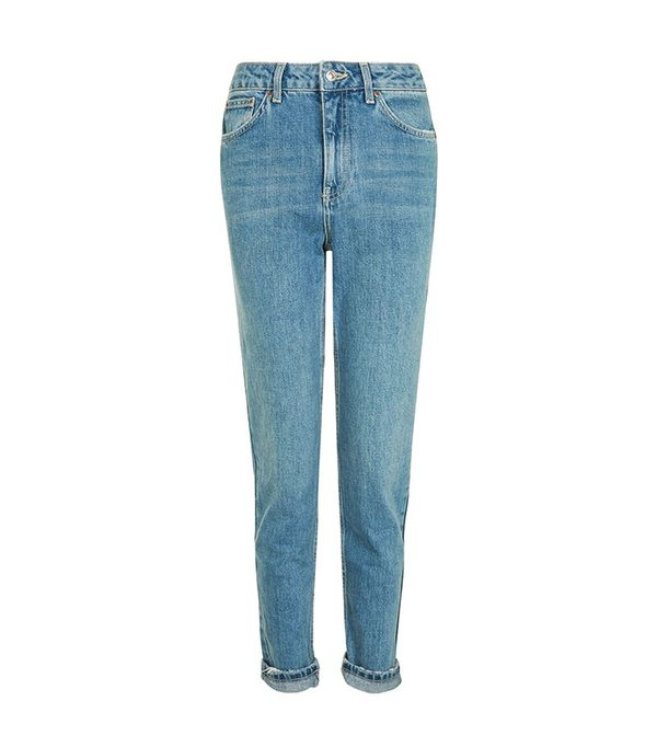 MOTO Vintage Blue Mom Jeans