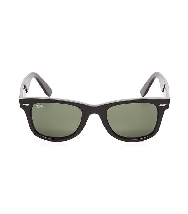 Wayfarer Straight Sunglasses