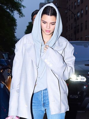 Kendall Jenner Just Wore a Huge Diamond on Her Ring Finger
